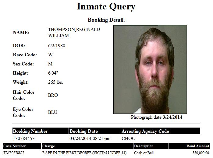Thompson Reginald OK CO Jail Booking Detail.png