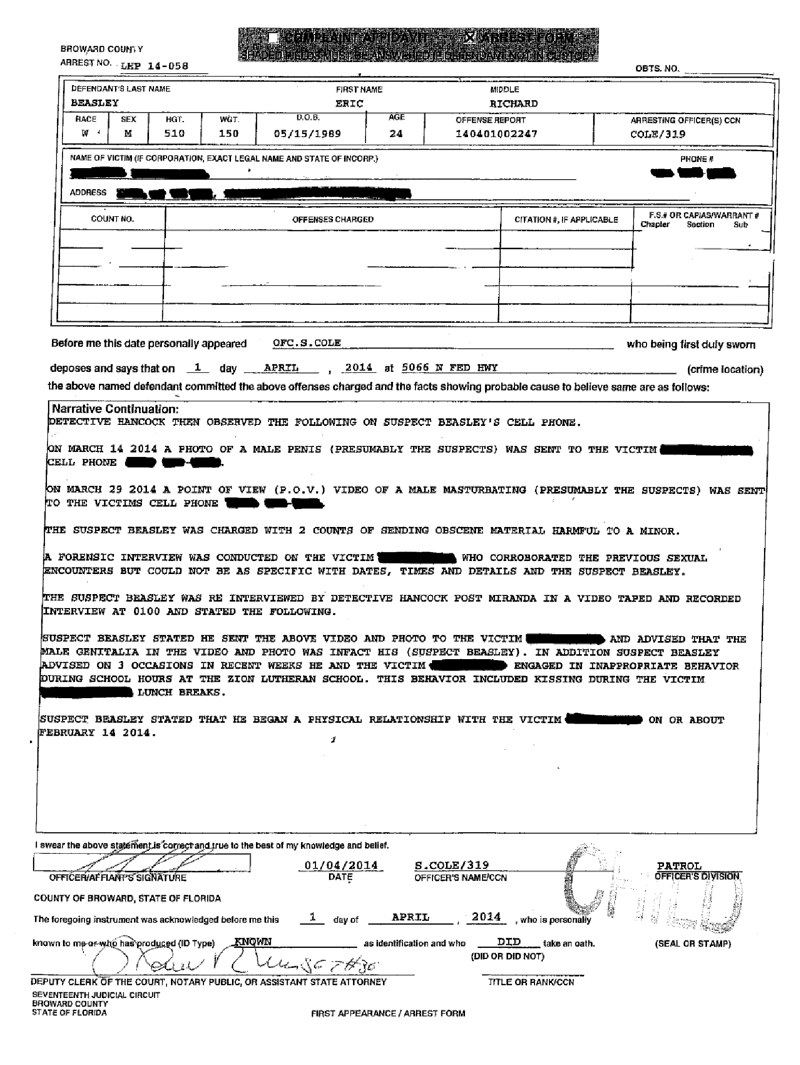 Copy of Beasley Eric arrest affidavit4.png