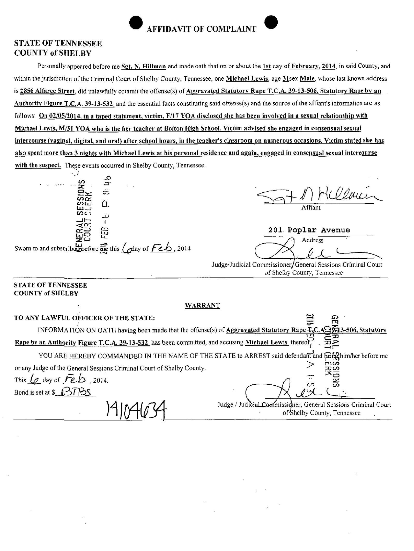 Lewis Michael Affidavit of Complaint.png